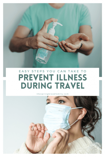 Prevent Illness During Travel Pinterest