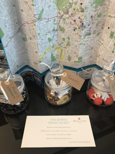 NH Collection Milano President - Map and Treats