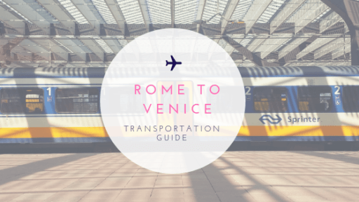 Rome to Venice