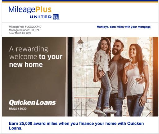 united milageplus loan offer