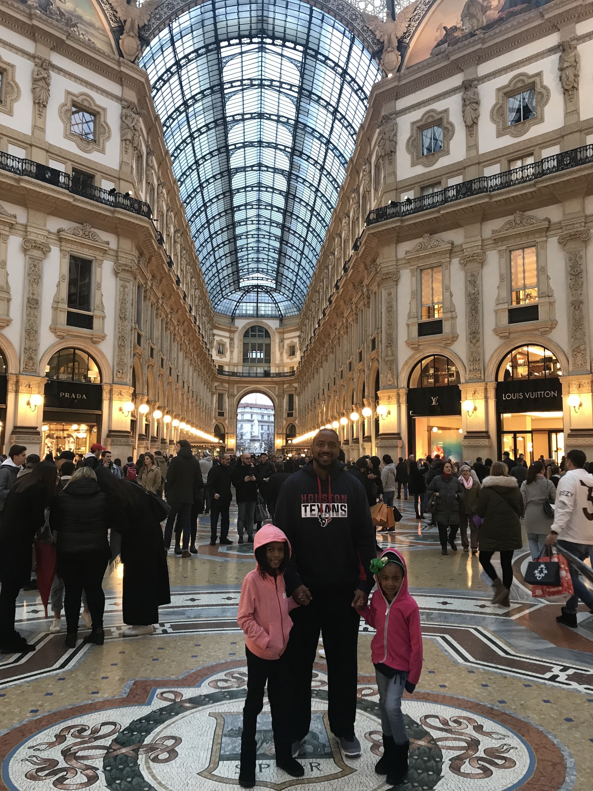 MIlan Galleria With Kids