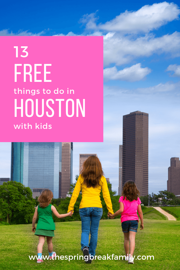 Free Things to do in Houston with Kids