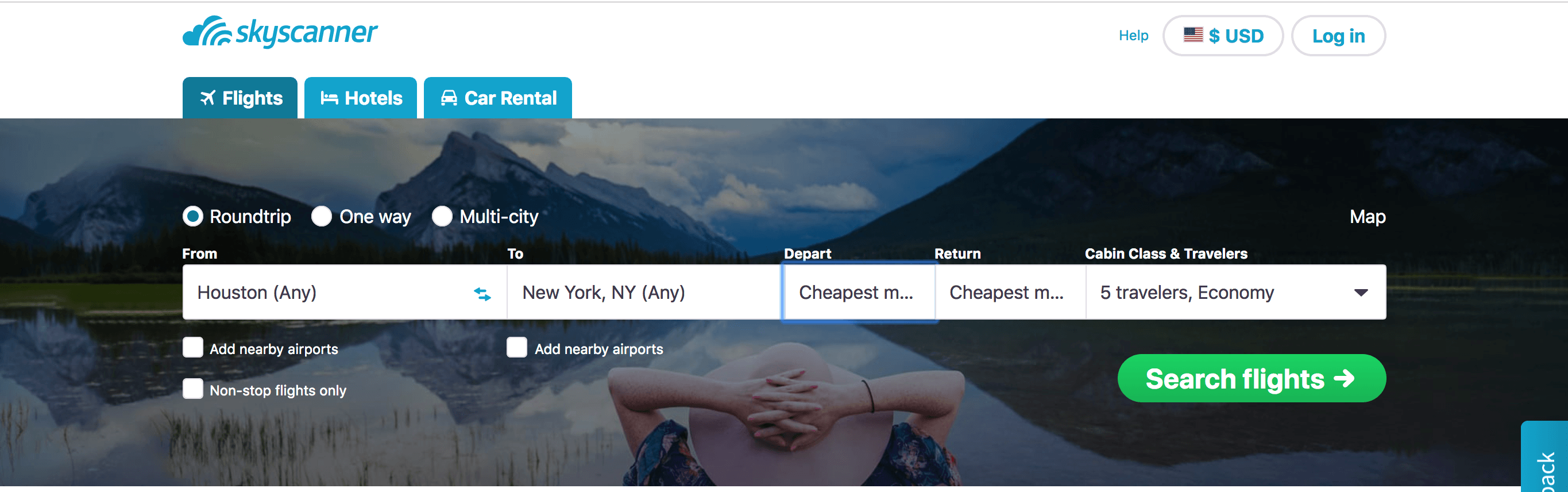 tips to find cheap airfare