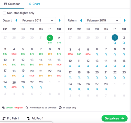 how to find cheap flights with flexible dates