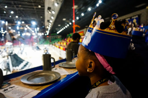medieval times dallas review food