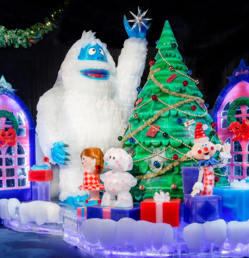 Gaylord Texan Ice - Sculptures