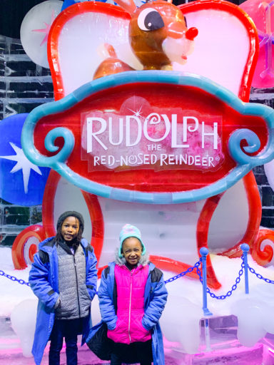 Gaylord Texan ICE - Rudolph Entrance Sign