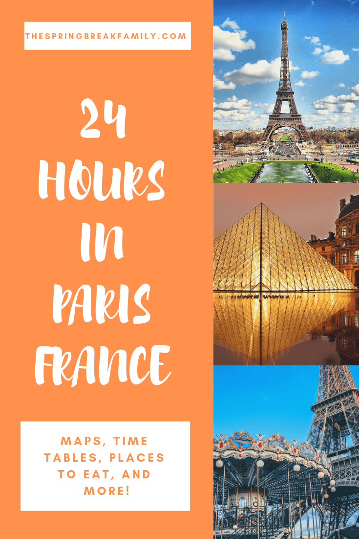 24 Hours in Paris Itinerary