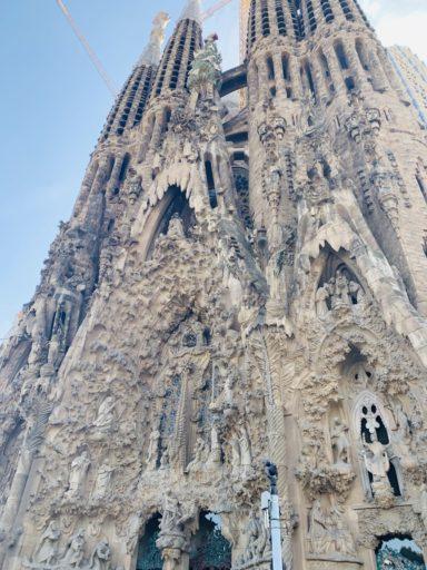 Barcelona with Kids La Sagrada Familia