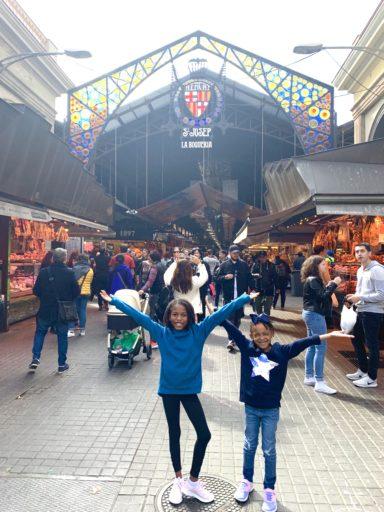 Barcelona With Kids La Boqueria