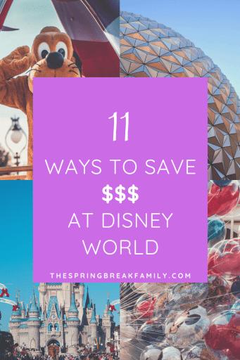 Disney World on a Budget Pinterest