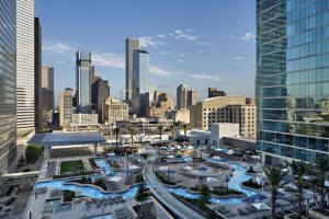 Houston Staycation - Marriott Marquis