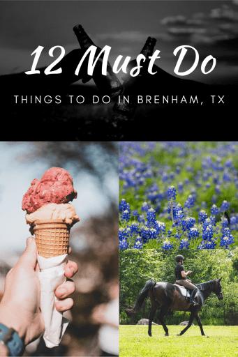 Things to do in Brenham TX