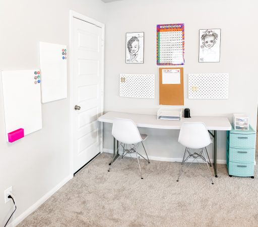Homeschool Room Ideas - Homeschool in Small Spaces Full Room