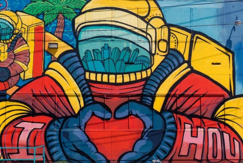 Staycation in Houston - Houston Graffiti Wall