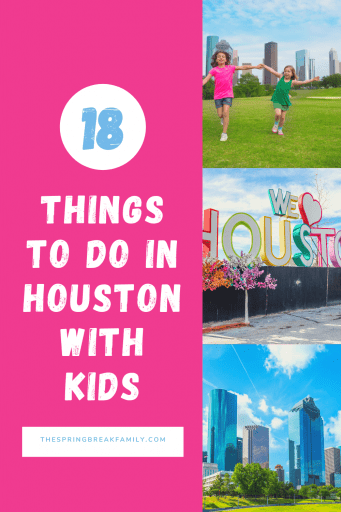 Pinterest Pin - Things to do in Houston with kids