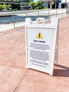 Is Disney World Safe - Warning Sign