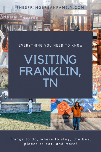 Pinterest - Things to do in Franklin TN