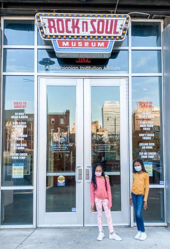 Weekend in Memphis - Rock N Soul Museum Entrance