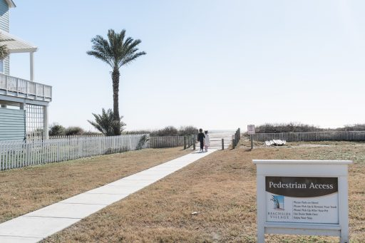 Things to do in Galveston with Kids - Vacasa Beach Entrance