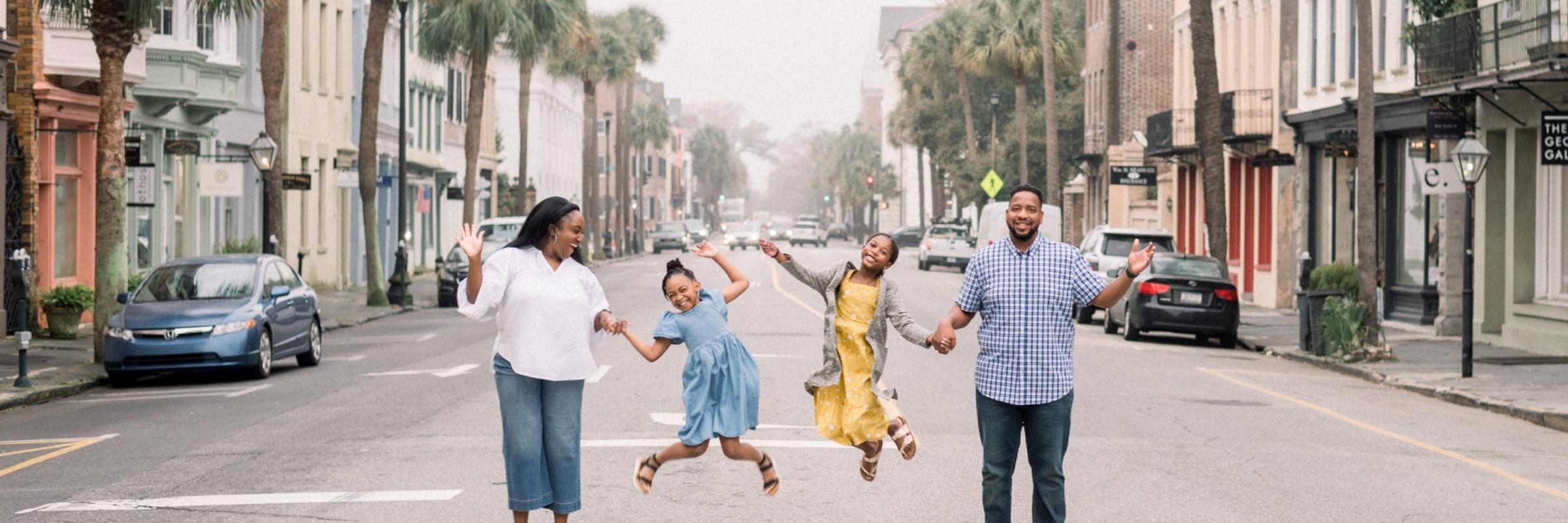 The Spring Break Family Header – Charleston 2021