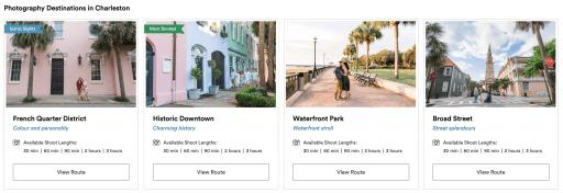 Charleston Family Photographer - Routes