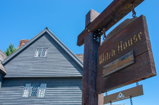 Best Halloween Towns - Salem MA Witch House