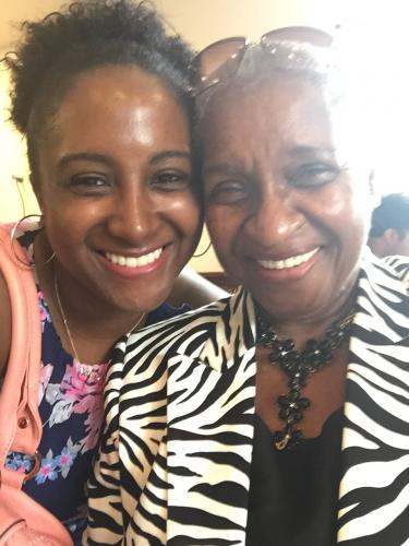 grandmother, generations, african american family, grand daughter